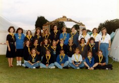 Bottesford Guides group photographs taken at Poacher Camps