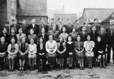 Bottesford Village School seniors, 1949