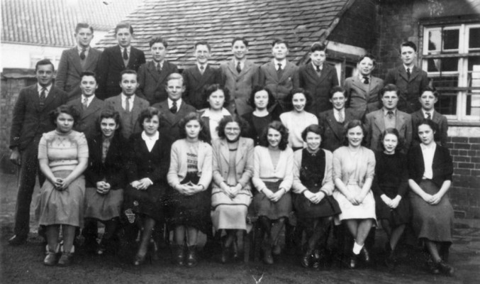 Bottesford village school seniors, 1950