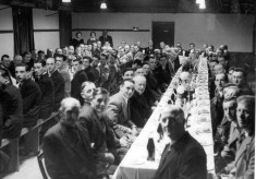 Bottesford Harvest Supper, 1954