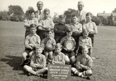 Bottesford village school juniors football team, 1956