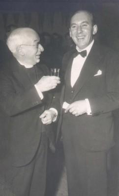 Cannon Blackmore (L) and Sgt Arthur Bradshaw