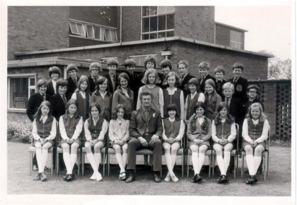 Bottesford High School, Dick Bradshaw's form photograph
