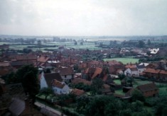 Village centre from Bottesford church tower