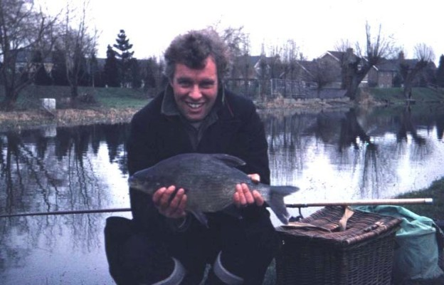 Brian Cross with a prize fish