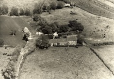 Aerial photo of Sykes Lane Farm, Muston