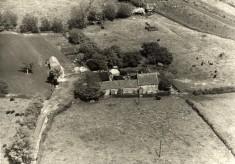 Aerial photo of Sykes Lane Farm, Muston