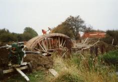 Rebuilding Muston Canal Bridge in 1988_3