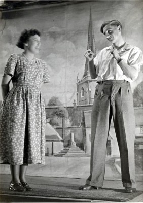 Bottesford Youth Club 1950s show: Barbara Culpin and John Skinner