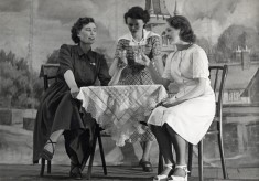 Bottesford Youth Club 1950s show: two Dorothys and Pat