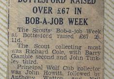 Jay Howitt's Scouts scrapbook cuttings - 43