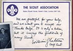 Jay Howitt's Scouts scrapbook cuttings - 55