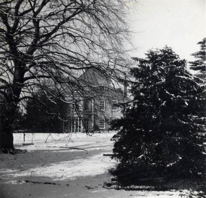 Bottesford Rectory in snow