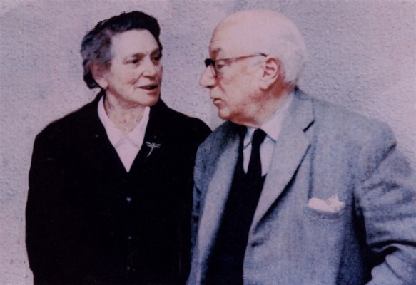 Canon and Fanny Blackmore, after retirement