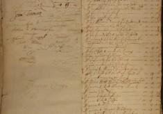 Muston Overseers of the Poor Account 1666