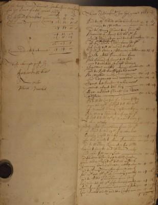 Muston Overseers of the Poor Account 1667