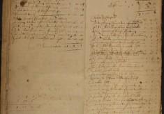 Muston Overseers of the Poor Account 1668