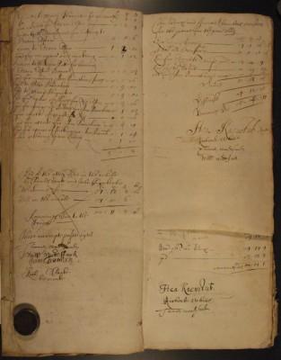 Muston Overseers of the Poor Account 1669
