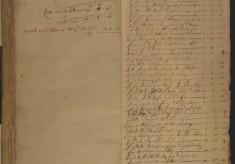 Muston Overseers of the Poor Account 1673
