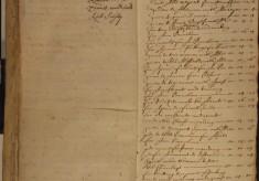 Muston Overseers of the Poor Account 1675