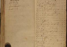 Muston Overseers of the Poor Account 1676