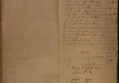Muston Overseers of the Poor Account 1678