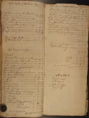 Muston Overseers of the Poor Account 1679