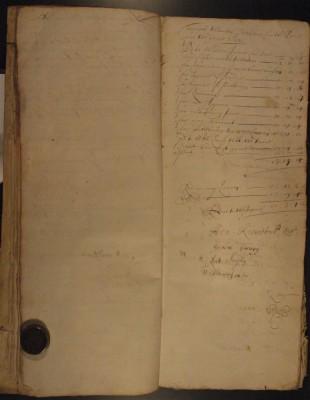 Muston Overseers of the Poor Account 1682