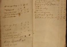 Muston Overseers of the Poor Account 1683