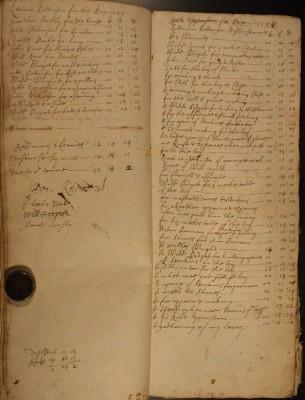 Muston Overseers of the Poor Account 1684-85