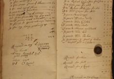 Muston Overseers of the Poor Account 1686-89