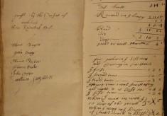 Muston Overseers of the Poor Account 1689-90