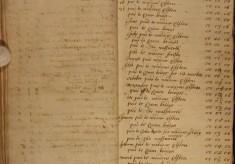 Muston Overseers of the Poor Account 1699-1700