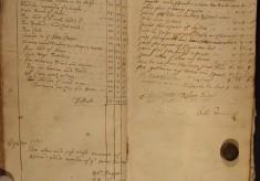 Muston Overseers of the Poor Account 1710-11