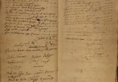 Muston Overseers of the Poor Account 1712-13