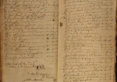 Muston Overseers of the Poor Account 1714-15
