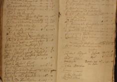 Muston Overseers of the Poor Account 1716-17