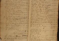 Muston Overseers of the Poor Account 1718-19