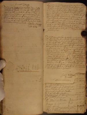 Muston Overseers of the Poor Account 1720 statements