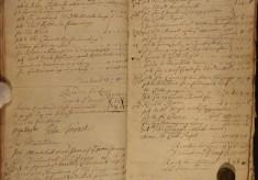 Muston Overseers of the Poor Account 1722-23