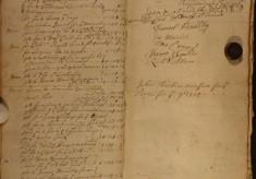 Muston Overseers of the Poor Account 1724
