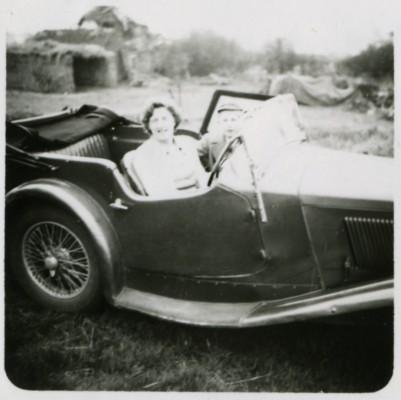 Keith Samuel's first car