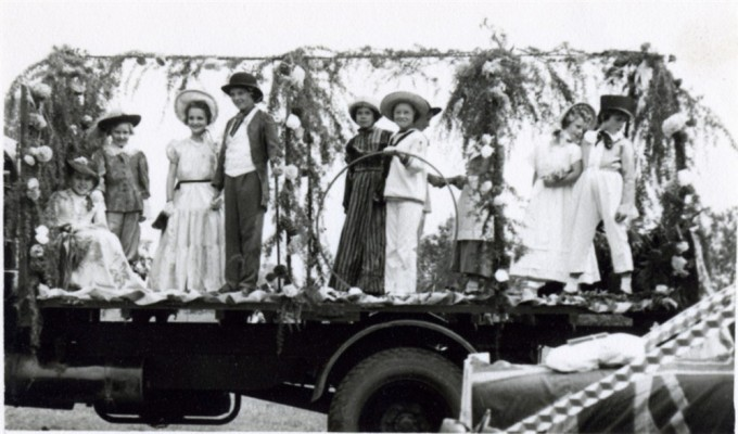 The Brownies' Float circa 1952