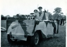 Wolseley Hornet 'converted' into a tank