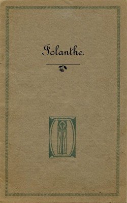 Bottesford Amateur Operatic Society - Iolanthe - cover page