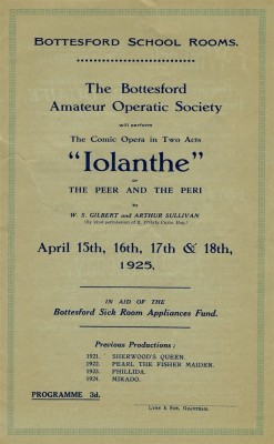 Bottesford Amateur Operatic Society - Iolanthe - page 3