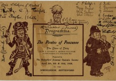 Bottesford Amateur Operatic Society - Pirates of Penzance - cover