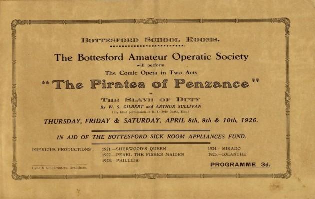 Bottesford Amateur Operatic Society - Pirates of Penzance - page 3