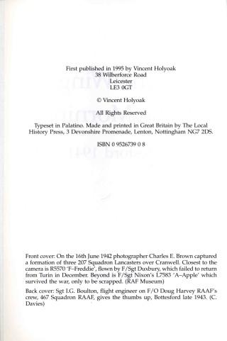 Introduction: RAF Bottesford 1941-1945