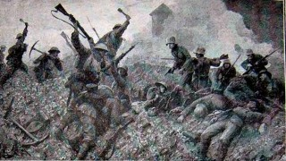 William was one of 200 men who died under withering m/c gun fire as they attacked Windmill trench